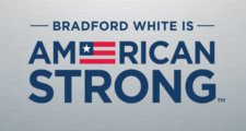 Bradford White Is American Strong Logo